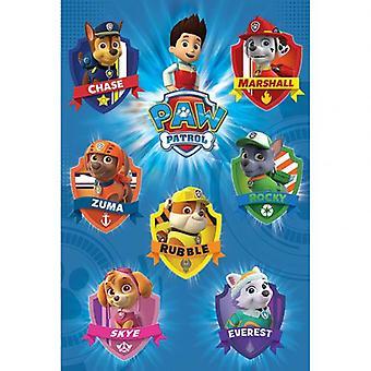 Paw Patrol Poster Crests 74