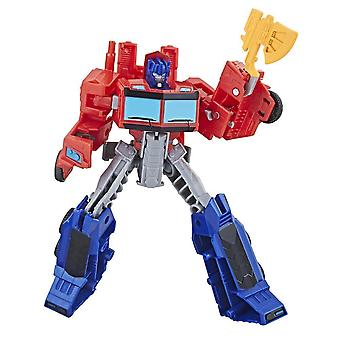 Transformers Cyberverse Action Atackers Warrior Class Optimus Prime Figure