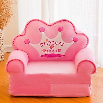 Cute's Chair Home Cartoon Folding Back Sofa Princess Soft Bedroom Reading