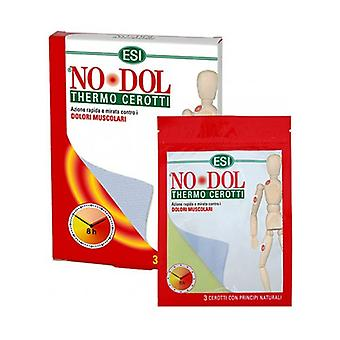 NO DOL thermo patches 3 units