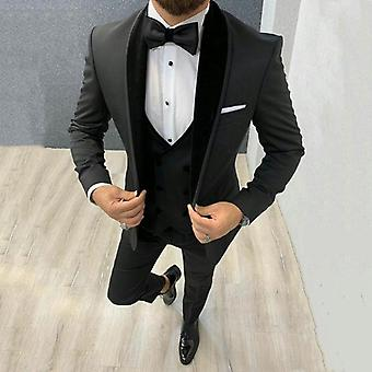 Groom Blazer Tuxedo Slim Fit Costume