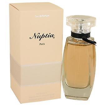 Nuptia Eau De Parfum Spray By Paris Bleu 3.3 oz Eau De Parfum Spray
