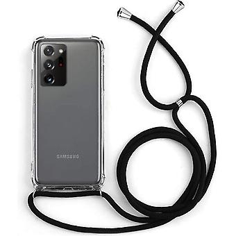 Samsung Note 20 Ultra Case Transparent with Cord