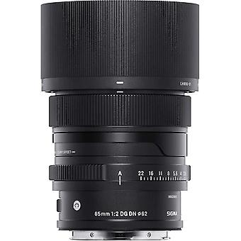 Sigma 65mm f2.0 dg dn for sony e mount