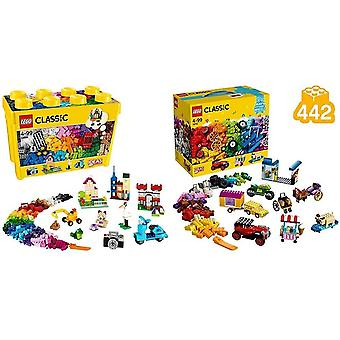 LEGO 10698 Classic Large Creative Brick Box Construction Set, Toy Storage &amp