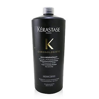 Kerastase Chronologiste Bain Regenerant Youth Revitalizing Shampoo (Hair and Scalp) 1000ml/34oz