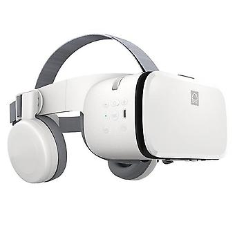Bobovr z6 قابلة للطي vr 3d نظارات الواقع الافتراضي مصغرة خوذة vr نظارات البوبو vr ل4 - 6 بوصة الهاتف الذكي