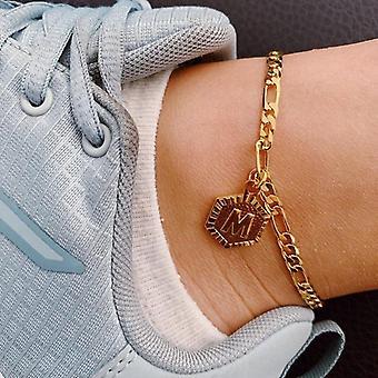 Alphabet Leg Bracelets