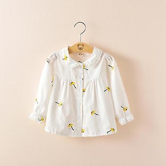 Printed  Flower Shirt Fors Long-sleeved Shirt  / Blouse