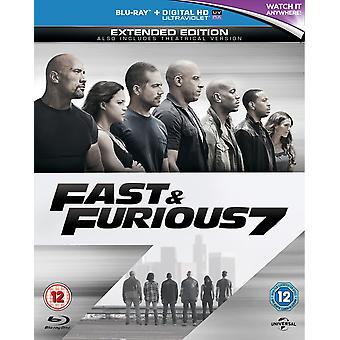 Fast & Furious 7 Blu-ray
