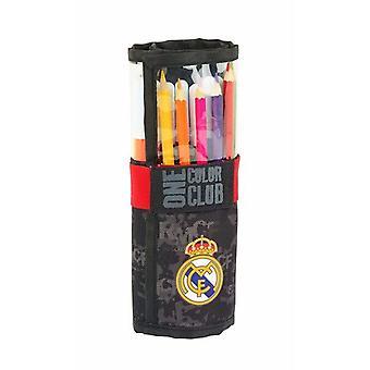 Lyijykynäkotelo Real Madrid C.F. Roll-up Black (27 kpl)