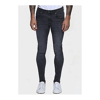 883 Police Moriarty Slim Fit Dark Grey Jeans