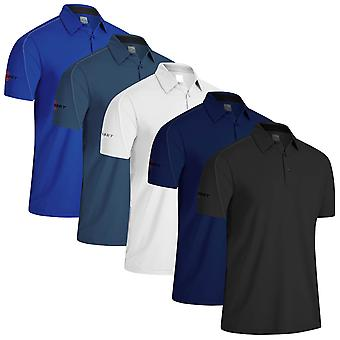 Callaway Golf Mens 2021 Stitched Colour Block Moisture Wicking Golf Polo Shirt