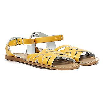 Salt Water Retro Womens Mustard Sandals