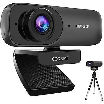 FengChun Webcam 1080P Full HD mit Stereo-Mikrofon, Streaming Webkamera für Videochat, Aufnahme,