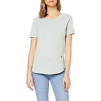 G-STAR RAW Mysid Recycle Färgämne Optik Slim T-Shirt, Grön (Freez Green B059-B213), S Kvinna