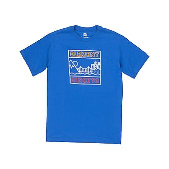 T-shirt à manches courtes Element Link en bleu olympien