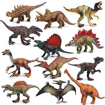 15cm 12 Stück / Dinosaurier Modell Spielzeug Set bewegliche Puppe Dinosaurier Kinder Simulation Spielzeug junge Geschenk