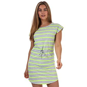 Women's Only May Life Stripe Dress in Grey
