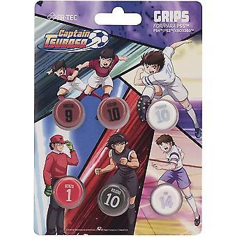 FR-TEC Captain Tsubasha - Poignées de pouce de l'école primaire - PS4 - PS5 - PS3 et X360