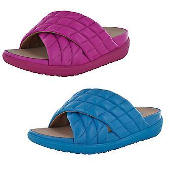 Fitflop Kvinders Loosh Luxe Cross Slide Sandal Sko