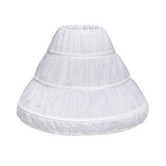 Petticoat Wedding Dress With Hoop Skirts