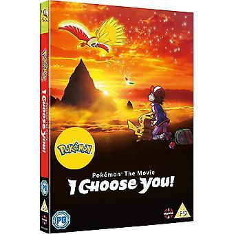 Pokemon filmen: Jag väljer dig! DVD