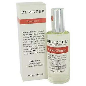 Demeter Fresh Ginger By Demeter Cologne Spray 4 Oz (naiset)
