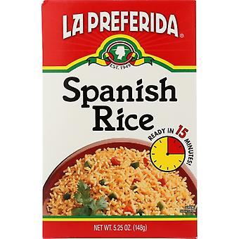 La Preferida Rice Spanish Box, Case of 9 X 5.25 Oz