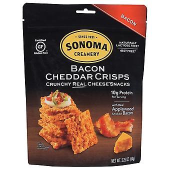 Sonomacrea Crisp Chesse Bacon Cheddr, Cas de 12 X 2,25 Oz