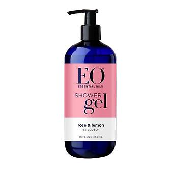 EO Products Shower Gel, French Lavender 16 oz