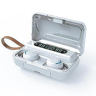 F9 TWS Wireless bluetooth Headset Business Sports In-ear Earphone