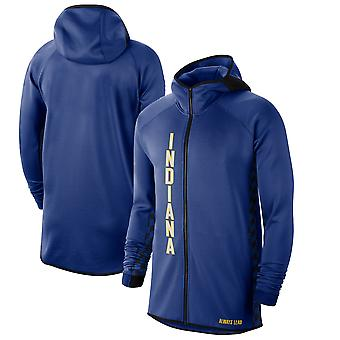 Indiana Pacers Blue201920 Earned Edition Showtime Full-zip Performance Hoodie