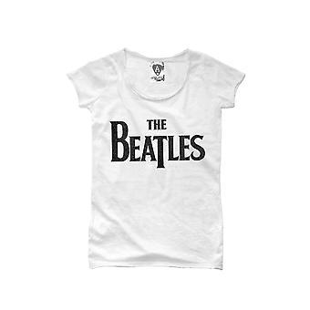 Förstärkt The Beatles Logo T-shirt