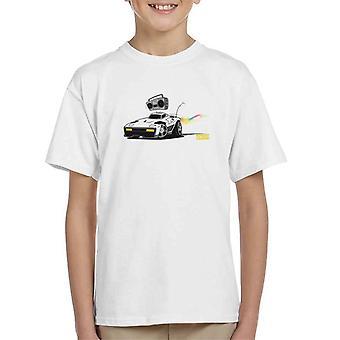 Rocket League Breakout Boombox Kid's T-Shirt