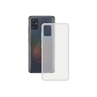 Mobiilikotelo Samsung Galaxy A51 5G Yhteystiedot TPU Läpinäkyvä