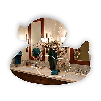 かわいい浴室ゴム製アヒル アクリル ミラー