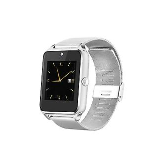 Aquarius GT08 Smartwatch Milanese Bluetooth Compatible avec Android, Argent