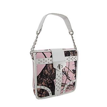 Mossy Oak Forest Camouflage Strass Cabrio Cross Body Geldbörse