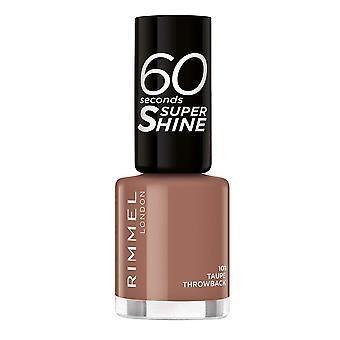 nail polish 60 Seconds Super Shine Rimmel London Nº 101 (8 ml) (8 ml)