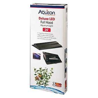 "Aqueon Deluxe LED Full Hood - 24"" Fixture - 3 Watts"