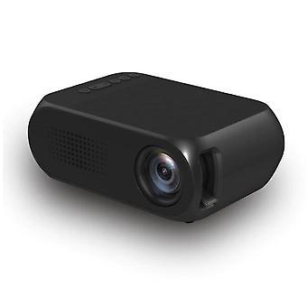 HD 80 Inch Portable LED Pocket Projector(Black)