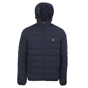 Lyle & scott men's dark navy puffer jacket