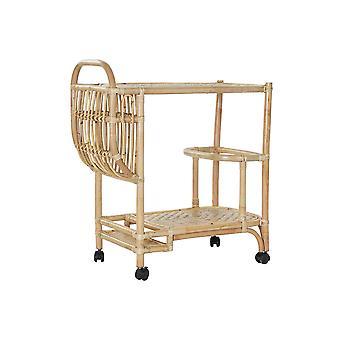 Wózek wielofunkcyjny DKD Home Decor Bamboo Rattan (72 x 38 x 80 cm)