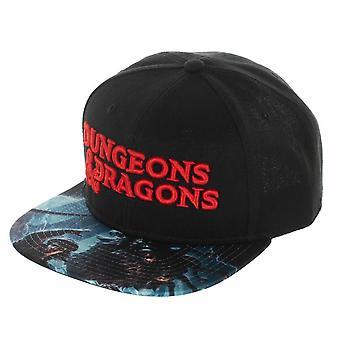 Dungeons & Dragons Flat Bill Snapback Hat