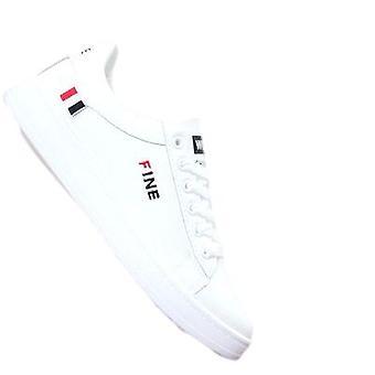 Miesten valkoiset lenkkarit Trendikkäät kengät