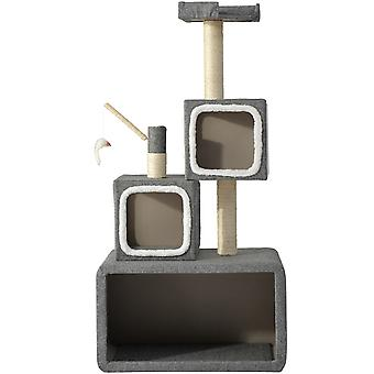Cat Tree Scratching Post Tower Box Structure Centra aktivit