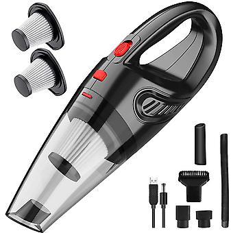 Mini odkurzacz ręczny, ręczny odkurzacz bezprzewodowy o dużej mocy, ręczny ładowalny do czyszczenia domu i samochodu