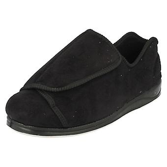 Mens Padders Extra Wide Fit Slippers Peter