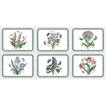 Pimpernel Botanic Garden Placemats, Set of 6, New Designs
